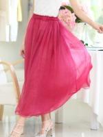 爆款推荐-6色5码外贸出口半身裙 小清新飘逸淑女风 夏季必备超值